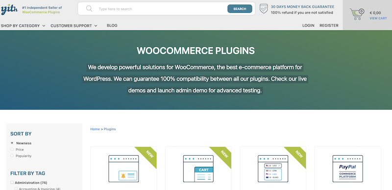Yith WooCommerce review